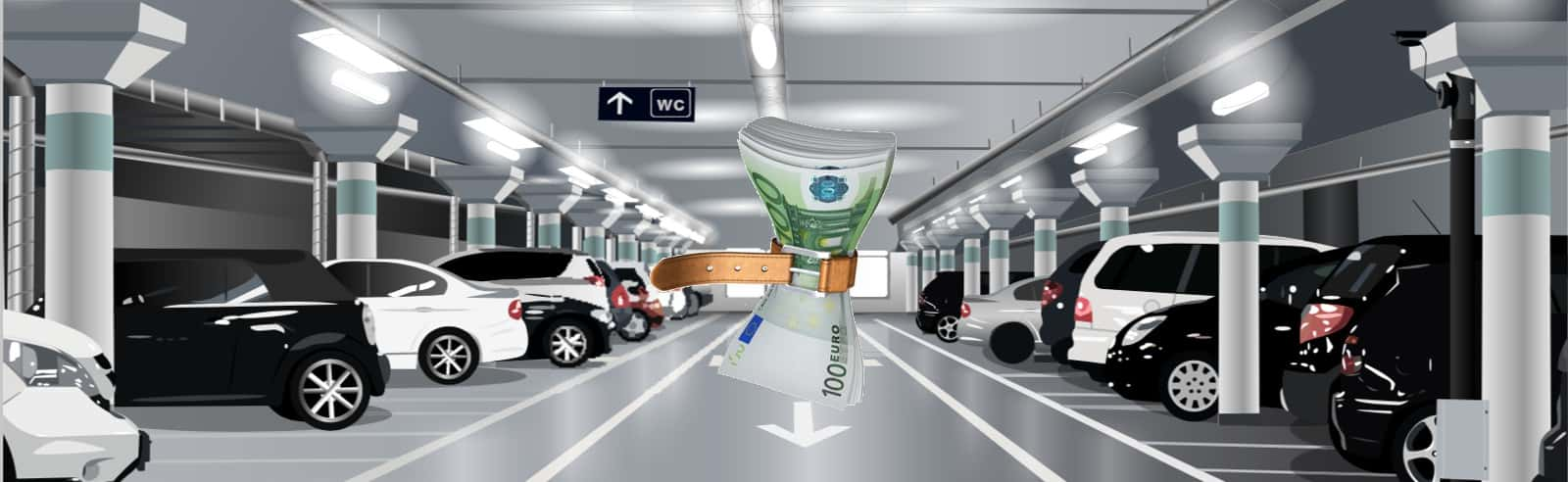 discount parking Zaventem